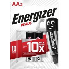 Батарейка ENERGIZER (Энерджайзер) Alkaline MAX E91/AA FSB2