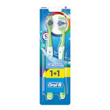 ORAL_B Зубная щетка Комплекс Пятисторонняя чистка 40 средняя 1+1шт бесплатно