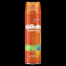 GILLETTE FUSION Гель для бритья Ultra Sensitive (для чувствительной кожи) 200мл