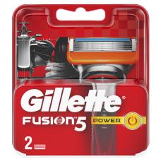 GILLETTE FUSION Power (ЖИЛЛЕТТ ФЬЮЖН) Сменные кассеты для бритья 2шт