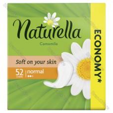 Женские прокладки NATURELLA (НАТУРЕЛЛА)  на каждый день Camomile Normal 52шт