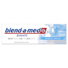 BLEND_A_MED  ( Бленд-а-мед) Зубная паста 3D White Whitening Therapy Защита Эмали 75мл
