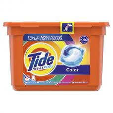 Капсулы Для Стирки Tide (Тайд) ВСЁ в 1  Color 15 Стирок