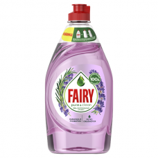 Средство для мытья посуды FAIRY  (Фейри) Pure & Clean Лаванда и Розмарин 450мл