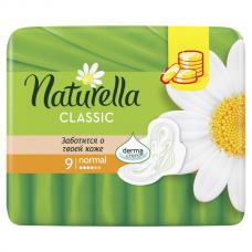 Женские прокладки ароматизир с крылышками NATURELLA (НАТУРЕЛЛА) Classic Camomile Normal 9шт