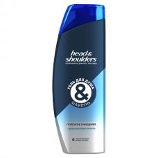 HEAD & SHOULDERS (ХЭД ЭНД ШОЛДЕРС) Гель для душа + шампунь Глубокое очищение 360мл