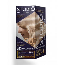 Крем-краска Studio (Студио) 3D HOLOGRAPHY (ГОЛОГРАФИЯ)  90.35 Кофе с молоком