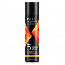 107725 Лак для волос INTU VOLUME&SHINE сверхсильной фиксации, 250 мл