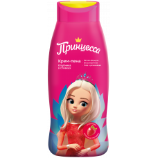 """Принцесса"" Крем-пена Клубника со сливками, 400мл"