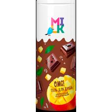 """Milk Гель для душа """"Милк"""" Шоколадный Увлажняющий,400 мл"""