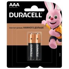 DURACELL Basic Батарейка AAA 2шт