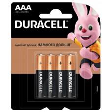 DURACELL Basic Батарейка AАA 4шт