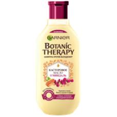 """Garnier Botanic Therapy (Гарньер Ботаник терапи) Укрепляющий Шампунь """"Касторовое масло и миндаль"""" для ослабленных волос, склонных к выпаданию 250 мл"""