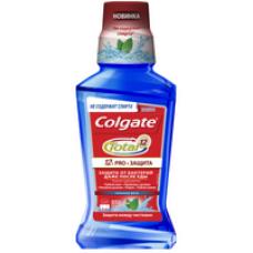 Colgate (Колгейт) Total 12 Pro-Защита Сильная Мята антибактериальный ополаскиватель для комплексной защиты полости рта, 250 мл