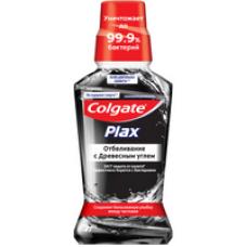 Colgate  (Колгейт) Plax Отбеливание с Древесным углем ополаскиватель полости рта, 250 м