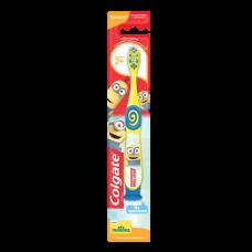 Colgate (Колгейт) Minions (Миньоны) детская зубная щетка 2+, супермягкая
