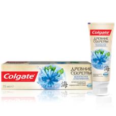 Colgate (Колгейт) Древние Секреты Безопасное Отбеливание (Морские водоросли и Соль) зубная паста с натуральными экстрактами, 75 мл
