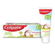Colgate (Колгейт) 0-2 Нежные фрукты детская зубная паста без фторида, 40 мл