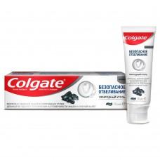 COLGATE (Колгейт) Безопасное Отбеливание Природный Уголь отбеливающая зубная паста, 75 мл