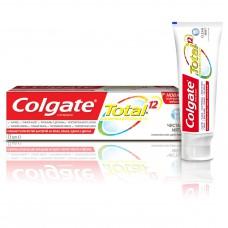 COLGATE (Колгейт) Total 12 Чистая Мята комплексная антибактериальная зубная паста, 75 мл