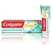 COLGATE (Колгейт) Total 12 Профессиональная чистка (гель) комплексная антибактериальная зубная паста, 75 мл