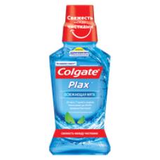 Colgate (Колгейт) PLAX Освежающая мята антибактериальный ополаскиватель полости рта, 250 мл