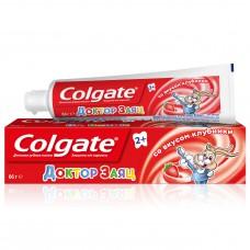 COLGATE (Колгейт) Доктор Заяц вкус Клубники детская зубная паста, 50 мл