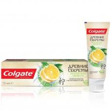 COLGATE (Колгейт) Древние Секреты Безупречная Свежесть (Лимон и Алоэ) зубная паста с натуральными экстрактами, 75 мл
