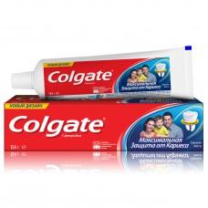 COLGATE (Колгейт) Максимальная защита от кариеса Свежая мята зубная паста, 100 мл
