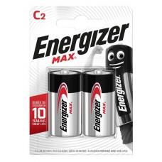 Батарейка ENERGIZER (Энерджайзер) Alkaline MAX E93/C 2шт