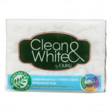 504946M Мыло хозяйственное CLEAN&WHITE (Клиен вайт) Универсальное 125г.