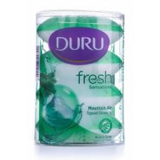 Мыло DURU (Дуру) FRESH SENSATIONS Горная свежесть 4*110г