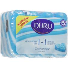 506029M Мыло DURU (Дуру) 1+1 морские минералы 4*90г.