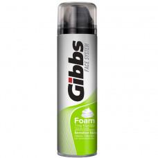 500833 Пена для бритья GIBBS (Гибс) для чувствительной кожи 200мл