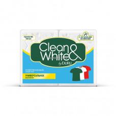504945 Мыло хозяйственное Clean&White (Клиен вайт) универсальное 2*125г.