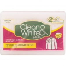 504948  Мыло хозяйственное CLEAN&WHITE (Клиен вайт) Против сложных пятен 125г
