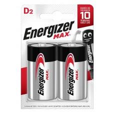 Батарейка ENERGIZER (Энерджайзер) Alkaline MAX E95 D FSB2