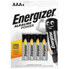Батарейка ENERGIZER (Энерджайзер) Alkaline Power E92/ААА BP4