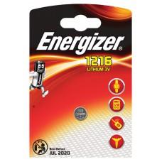 Батарейка ENERGIZER (Энерджайзер) CR1216 PIP1