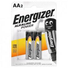 Батарейка ENERGIZER (Энерджайзер) Alkaline Power E91/АА BP2