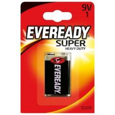 Батарейка EVEREADY (Эвереди) SHD 9v 6F22 FSB1 крона