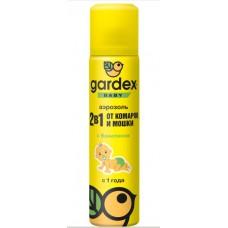 Аэрозоль Gardex Baby (гардекс) от комаров и мошки для детей с 1 года 80 мл