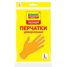 БОНУС Перчатки ТМ Бонус Эконом L