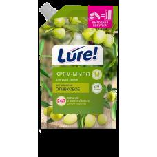 Жидкое мыло для всей семьи витаминное LURE (Люр) ОЛИВКОВОЕ дой-пак 500мл.