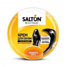 КРЕМ SALTON (салтон) для обуви из гладкой кожи  в банке 50 мл Черный