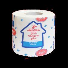 Туалетная бумага Лилия Soft (Софт) 1сл 1рул