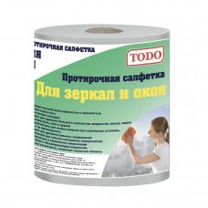 Полотенце бумажные TODO (ТОДО) Для зеркал и окон 2сл 1рул