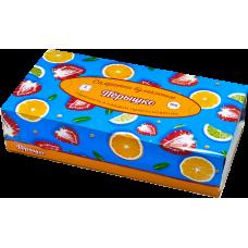 "Салфетки ""Перышко"" non-stop фрукты 2сл 100шт"