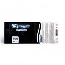 """Салфетки Перышко-интенсив 24х24 """"Черный цв."""" 1сл 400л"""