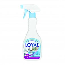 """Освежитель воздуха, тканей и ковров """"LOYAL"""" (Лоял) Хлопок 500 мл / Иордания"""